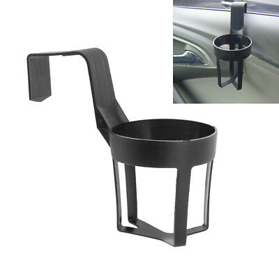 2 Universal Car Truck Door Cup Mount Beverage Drink Bottle Holder Stand Black UK