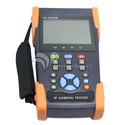 IP Camera 3.5inch Touch Screen CCTV Tester Support ONVIF Video Recorder WIFI