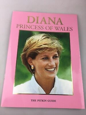 Princess Diana - The Pitkin Guide - Diana Princess Of Wales  - Magazine
