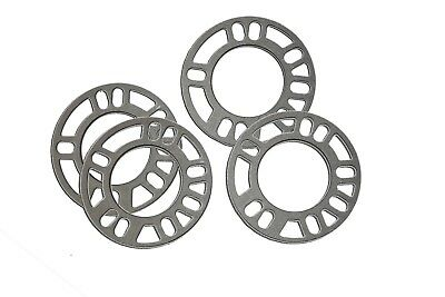 3MM & 5MM UNIVERSAL SET KIT ALLOY WHEEL SPACERS SHIMS 4x100/4x108/4x110/4x114.3
