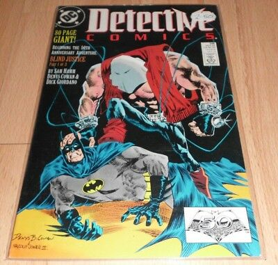 Detective Comics (1937 1st Series) #598...Published Mar 1989 by DC.