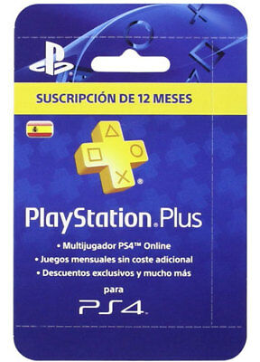 PlayStation Plus 365 Days/Tage [ES Store, Spain] CD Key PSN PSP PS4 Network Code