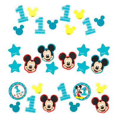 Disney Mickey Mouse Fun to be One 1st Birthday Table Confetti 34g