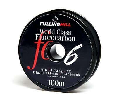Fulling Mill World Class Fluorocarbon Tippet Line 100m All Breaking Strains