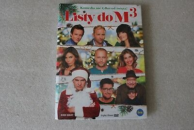 Listy do M 3 - DVD POLISH RELEASE SEALED FILM POLSKI ENGLISH SUBTITLES