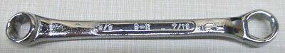 """M-1214 Sk 3/8"""" X 7/16"""" 6 Point Box End Wrench Made In Usa"""