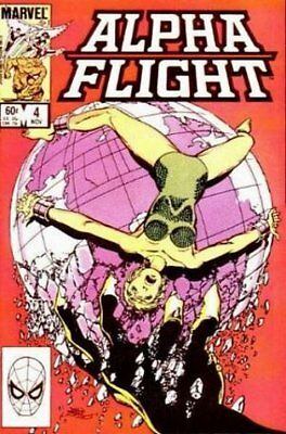 Alpha Flight (Vol 1) #   4 Fine (FN) Marvel Comics MODERN AGE