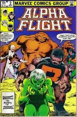 Alpha Flight (Vol 1) #   2 (VryFn Minus-) (VFN-) Marvel Comics AMERICAN