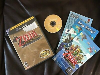 Legend of Zelda: The Wind Waker  (Nintendo GameCube, 2003)COMPLETE