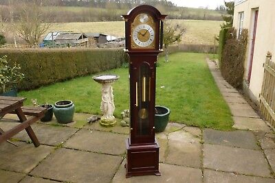 A very good Dent / London Grandmother clock with Westminster chimes.