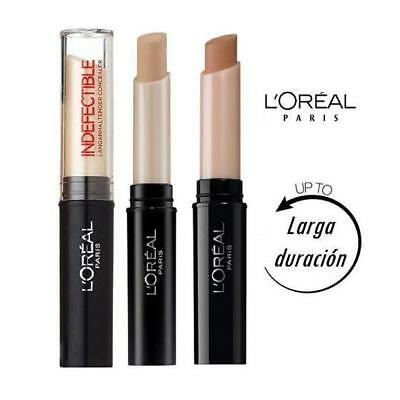 Loreal Infallible / Indefectible Concealer Corrector 16H Ojeras Manchas L'Oreal