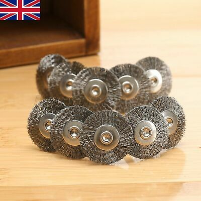 Durable 10Pcs Stainless Wire Wheel Die Grinder Brushes Rotary Polishing Tool