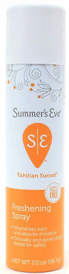 Summer's Eve Talc Free Personal Freshening Spray Tahitian Sunset 2oz