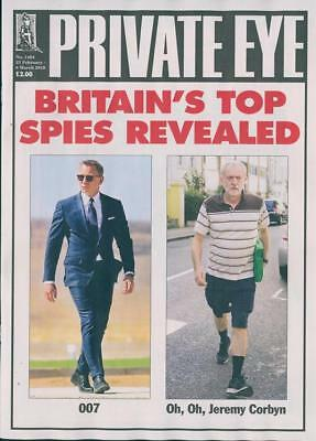 PRIVATE EYE MAGAZINE #1464 ~ 23rd FEB - 8th MARCH 2018 ~ NEW ~