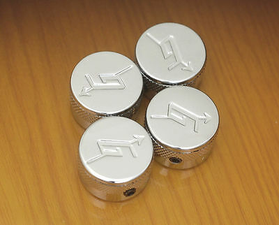 4-Chrome Gretsch Knobs