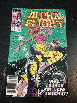 Alpha Flight#14 Awesome Condition 8.0(1984) John Byrne Art, Cool!!