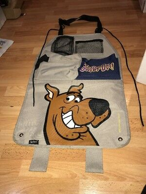 Vintage 1997 Hanna Barbera Scooby Doo Car Back Seat Organizer With Pockets