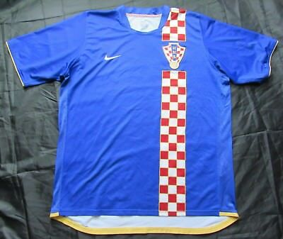 CROATIA Hrvatska 2006 World Cup away shirt jersey NIKE trikot 2008 adult SIZE XL
