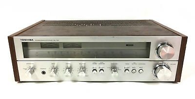 Vintage 1970's Toshiba SA-725 Stereo Receiver Silver Face - See Photos / Details