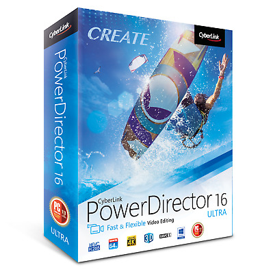 CyberLink PowerDirector 16 Ultra + PhotoDirector 9 Ultra