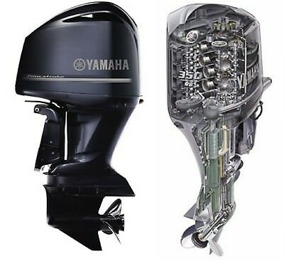 Yamaha 4 stroke Outboard F350x F350 B Motor Service Manual Library 2012 up