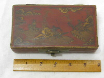 Antique Highly Collectable Laquered Chinese Box