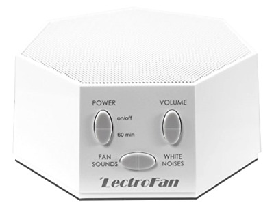 LectroFan High Fidelity White Noise Machine with 20 Unique Non-Looping Fan, New