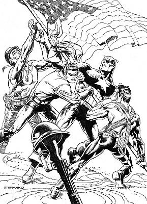 CAPTAIN AMERICA #700 STERANKO B&W Variant Marvel Comics NM Presale 4/10/2018