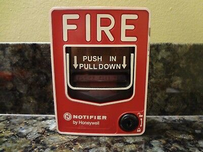 Honeywell Notifier NBG-12LX Dual Action Addressable Fire Alarm Pull Station