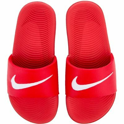 e7a2850ee820 Nike Sandals Kawa Slide Red Kids Boy s Size 11 TO 7 Unisex New In Box 819352