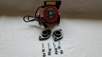"""3 speed Circulating Pump with Cord 34 GPM with 3/4"""" Cast Flange Set"""
