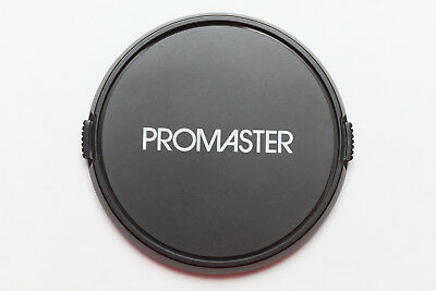GENUINE ORIGINAL PROMASTER 77MM FRONT LENS CAP for Nikon Canon Pentax Sony 50mm