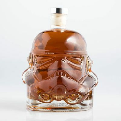 Officiel Star Wars Original Stormtrooper Casque Whisky Brandy Décanteur 750ml