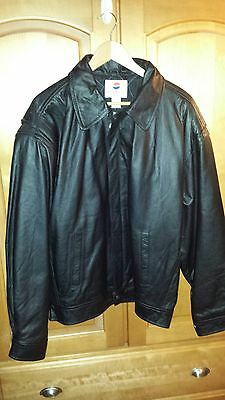 """  Vintage Leather Jacket From (Pepsi) Men's Size Xl (Nothing Else Is A Pepsi)"