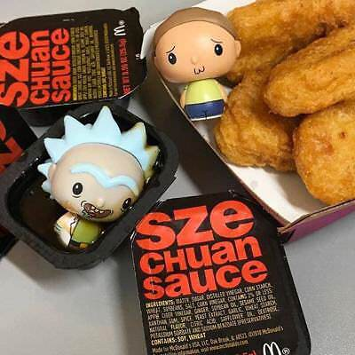 2018 Mcdonalds Szechuan Sauce Rick & Morty Mulan 10 Pack Limited Edition for 20$