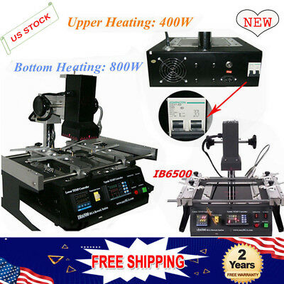 BGA Rework Station ACHI IR6500 Infrared Rework Station Welder SOLDERING For PS3