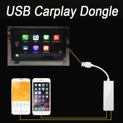 Carplay USB Dongle for WinCE Apple iPhone Android Car Auto Navigation Player 12V