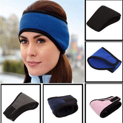Winter Ear Warmer Head Band Polar Fleece Ski Ear Muff Unisex Stretch Sports Yoga