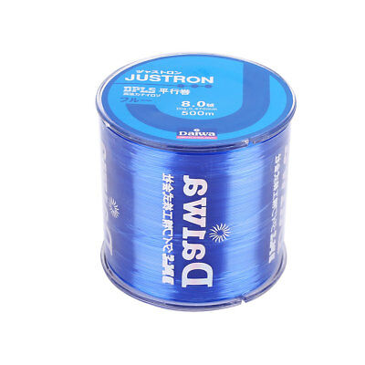 Daiwa JUSTRON DPLS Nylon Superpower Fishing Line 500m Jigging Bottom Colors E