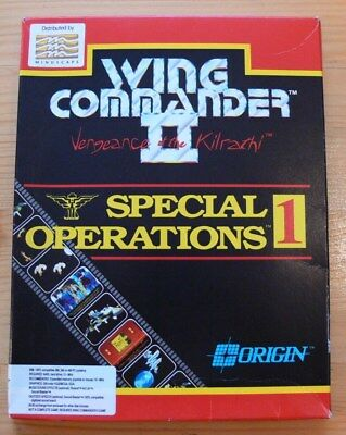 Wing Commander II- Special Operations 1- PC Spiel/ PC Game - Erweiterung