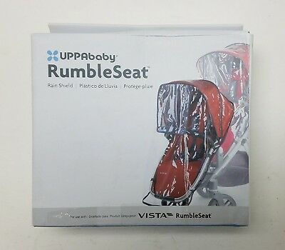 UPPAbaby RumbleSeat Rain Shield for 2015 Vista RumbleSeat