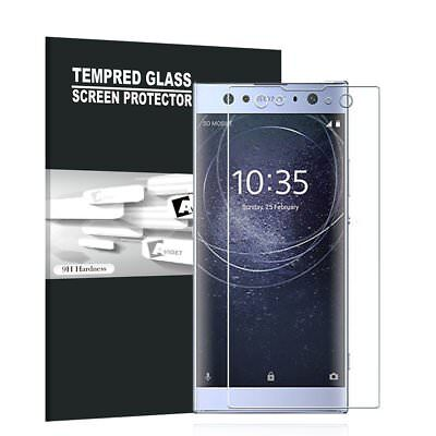 3D Curved Full Coverage Tempered Glass Screen Protector For Sony Xperia XA2