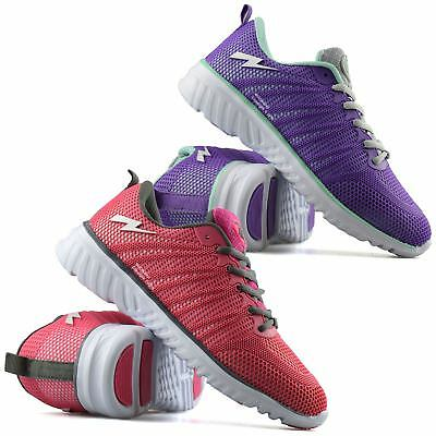 Ladies Womens New Casual Running Sports Gym Walking Fitness Trainers Shoes Size