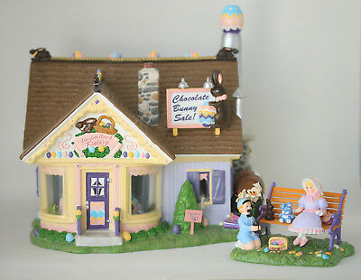 Department 56 - Chocolate Bunny Factory - Snow Village Easter