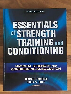Essentials of Strength Training and Conditioning von Baechle / Earle - NSCA