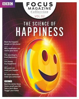 Bbc Focus Magazine Collection Vol.02 ~  2018 ~ The Science Of Happiness ~ New ~