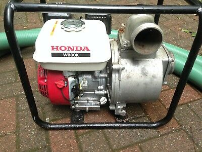"Honda WB30X Water/Trash Pump 3"" Intake/Outlet"