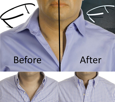 THE ORIGINAL Shirt Collar & Placket stays - NOT Flimsy plastic like imitations.