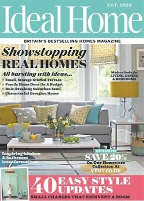 Ideal Home Magazine April 2018 ~ New ~
