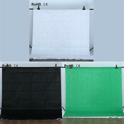 Non-Woven Fabric Studio Photography Background Screen 1.6*3M Backdrop Cloth CH